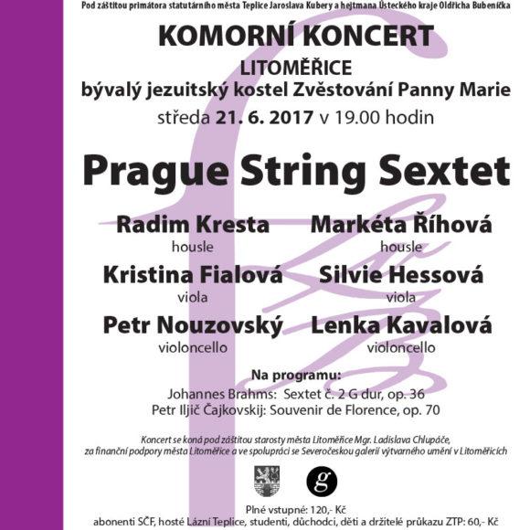 Koncert v rámci 53. ročníku Hudebního festivalu Ludwiga van Beethovena 2017