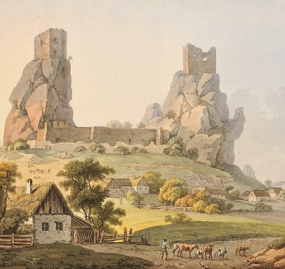 Nekonečné perspektivy, krajina a veduty 19. století ze sbírek Patrika Šimona