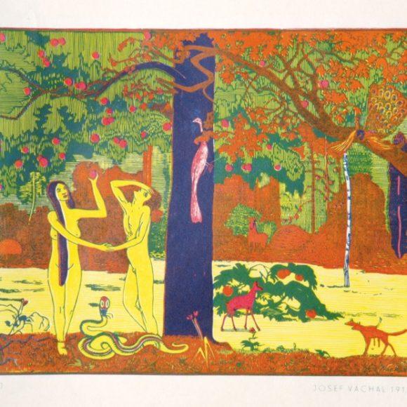 Pohledy do sbírek Severočeské galerie výtvarného umění v Litoměřicích, české umění 20. století